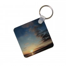 Hi Gloss Key Ring 2 Side