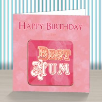 Best Mum Coaster Card