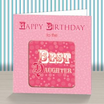 Daughter Coaster Card