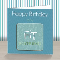 Fit Boyfriend Coaster Card