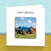 Tractor 2 Coaster Card