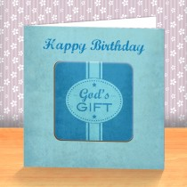 God's Gift Coaster Card