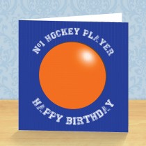 Hockey Coaster Card
