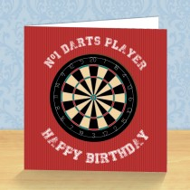 Darts Coaster Card