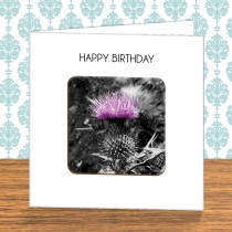 Thistle Coaster Card 10
