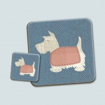 Scottie Blue Place Mat