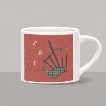 Bagpipes Mini Mug