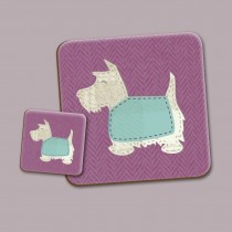 Scottie Pink Place Mat