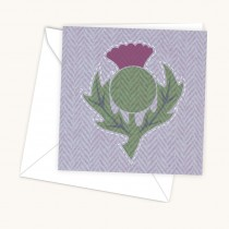 Thistle Light Greeting Card