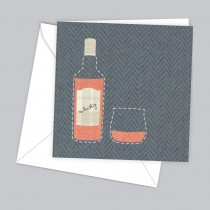 Whisky Greeting Card