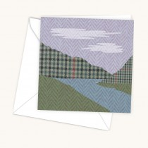 Mountain Scene Greeting Card