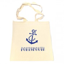 Anchor Cotton Shopper Bag