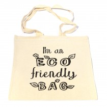 Eco Friendly Leaf Tote Bag