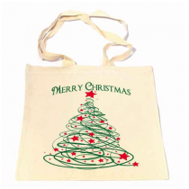 Christmas Tree & Stars Bag