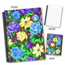 Purple Floral Notebook