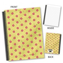Red Flower Notebook