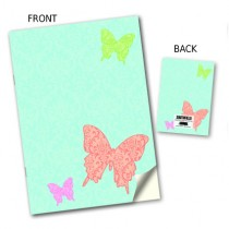 Large Butterfly Stitched Notebook