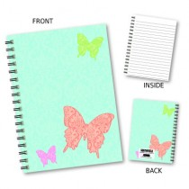 Large Butterfly Wiro Notebook