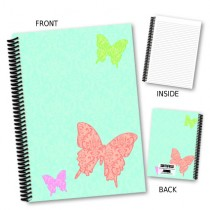 Large Butterfly Notebook