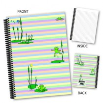 Frogs on Lily Pads Notebook