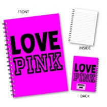 Love Pink' Wiro Notebook