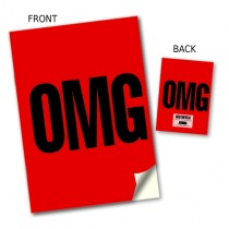 OMG' Stitched Notebook