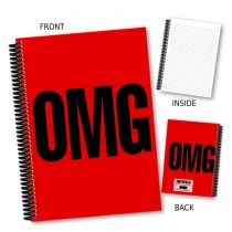 OMG' Coil Notebook