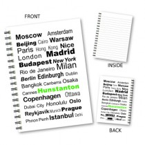 City Words Wiro Notebook