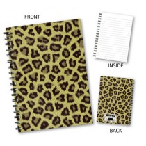 Cheetah Print Wiro Notebook