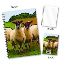 Inquisitve Sheep Wiro Notebook