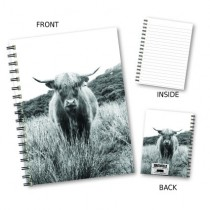 Highland Cow Image Notebook