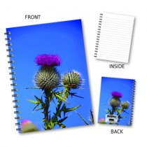 Thistle and Sky Wiro Notebook