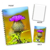 Thistle Picture Wiro Notebook