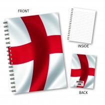 English Flag Wiro Notebook