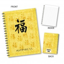 Happiness' Wiro Notebook
