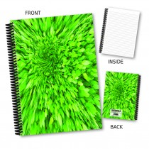 Abstract Leaf Notebook