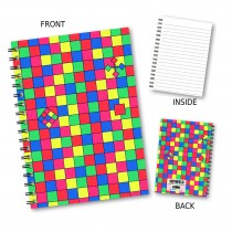 Bright Squares Wiro Notebook