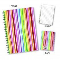 Modern Stripes Wiro Notebook
