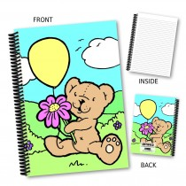 Teddy with Balloon Notebook