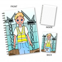 Cartoon Builder Wiro Notebook