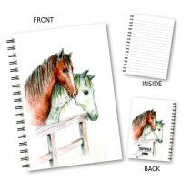 Horses Sketch Wiro Notebook