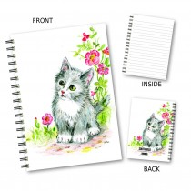 Cute Kitten Wiro Notebook