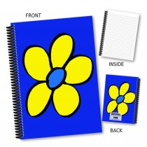 Bright Yellow Flower Notebook