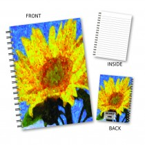 Sunflower Painting Wiro Noteoo