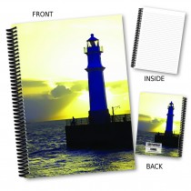 Lighthouse Coil Notebook