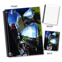 Chrome Headlight Notebook