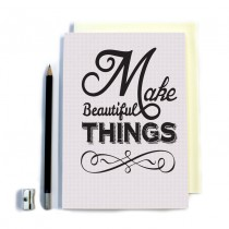 Beautiful Things' Stitched Notebook