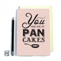 Pan Cakes' Stitched Notebook