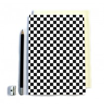Black & White Squares Notebook