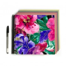 Bright Floral Scrapbook
